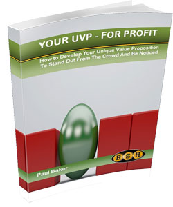 Your UVP - For Profit