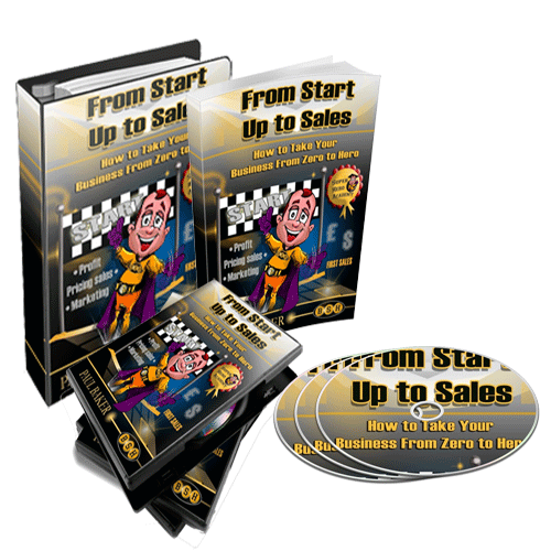 From Start Up to Sales Bundle - Hard Copy